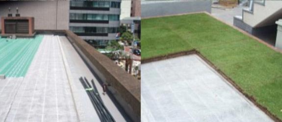 屋上緑化施工方法