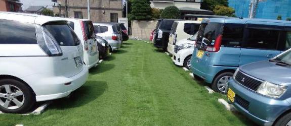 駐車場緑化