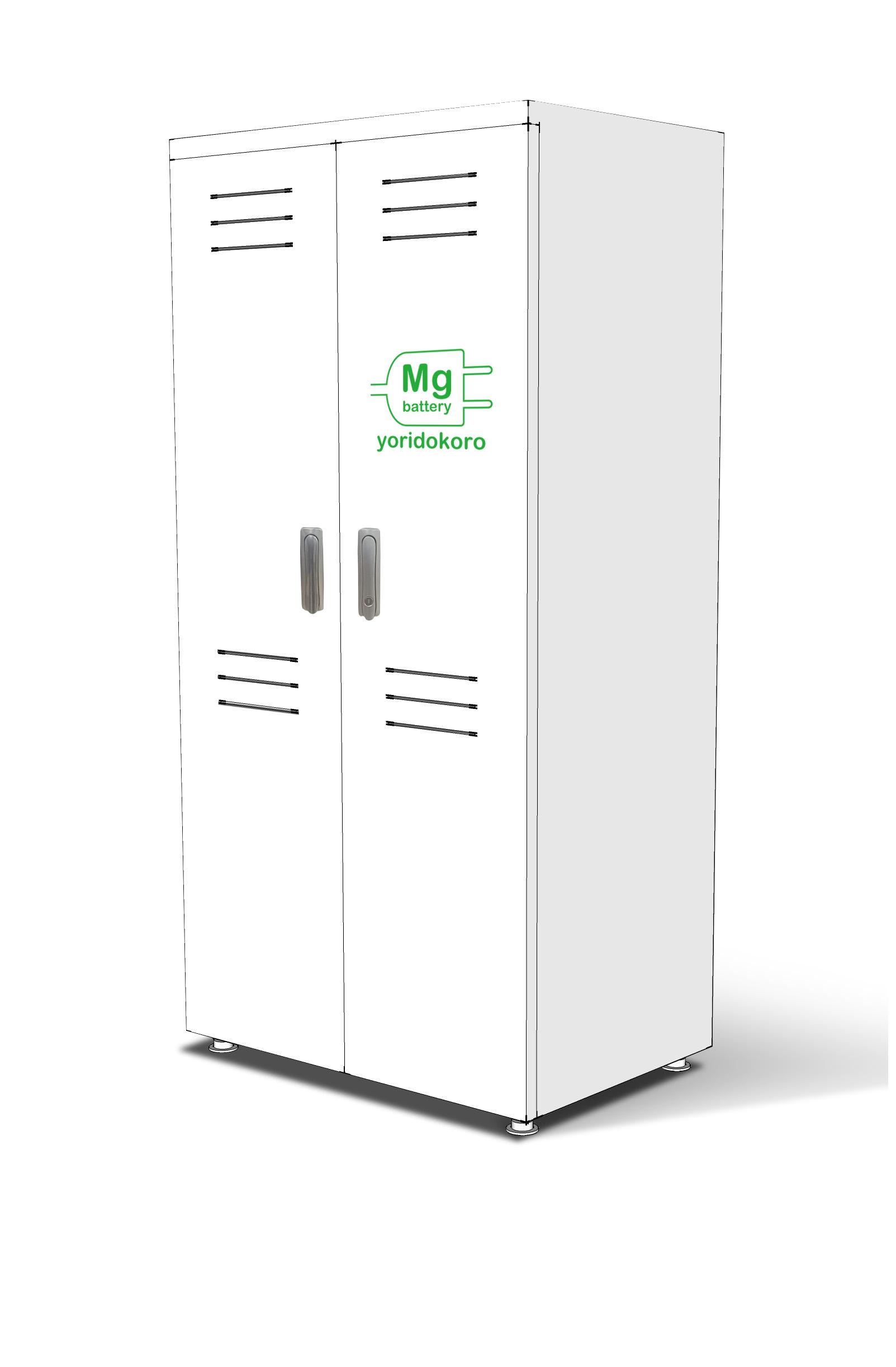 マグネシウム発電機(空気電池)